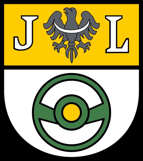 Herb: Jelcz-Laskowice