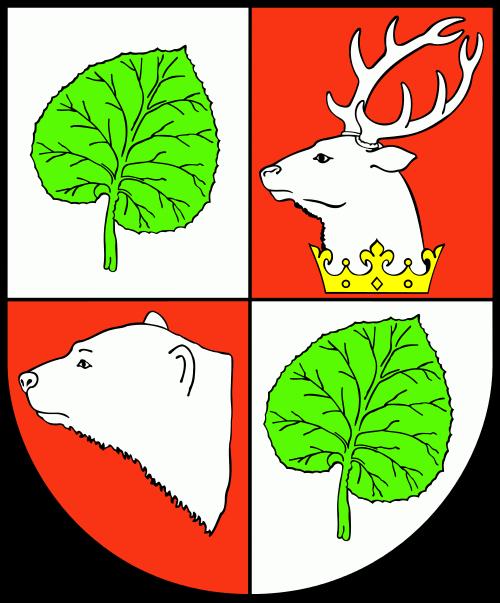 Herb: Łopiennik Górny