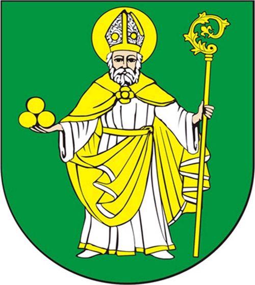 Herb: Mikołajki Pomorskie